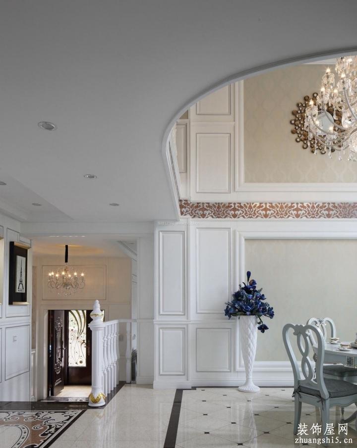 房子别墅室内地砖装修效果图