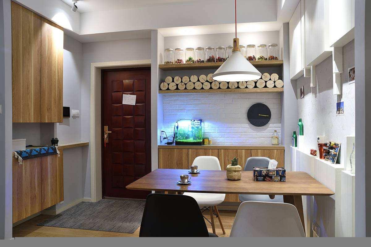 进门是餐厅直通客厅该怎样装修 三个技巧帮助您